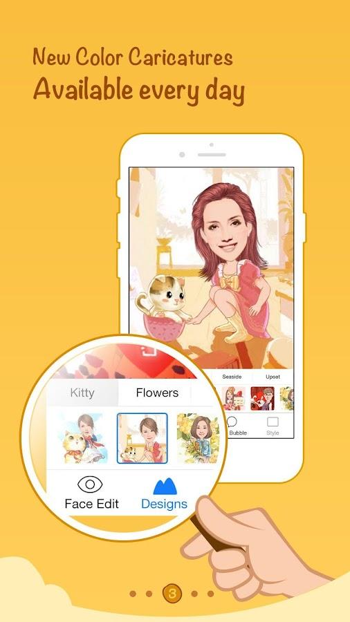 MomentCam Cartoons & Stickers - screenshot