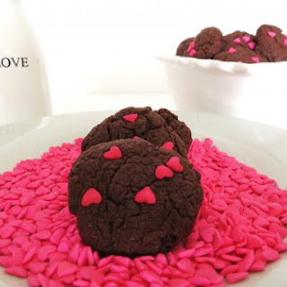 Chocolate Cake Cookies