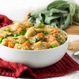 Easy Crock Pot Chicken and Dumplings.