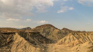 El Desierto de Tabernas es el mayor desierto de Europa.