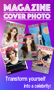 Magazine Cover Photo Frame screenshot 0