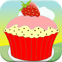 Cupcake Game For Kids icon