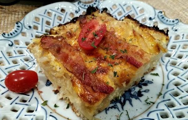 ~ Onion Lovin Brunch Cake ~ Recipe