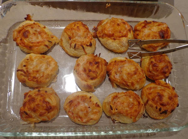 Pinwheel Pizzas Recipe