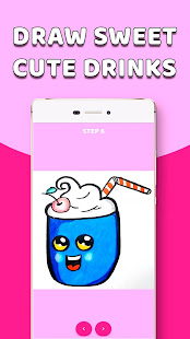 Download CDrawDrinks - Learn Draw cute Drinks, sweet, food For PC Windows and Mac apk screenshot 3