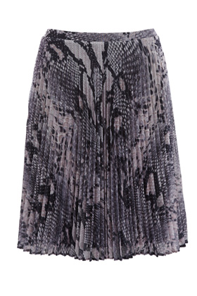 Photo: Snake Plisse Skirt . Was £40. Now £20.   Get yours now at: http://www.warehouse.co.uk/sale-preview/dept/fcp-category/categorylist?resetFilters=true