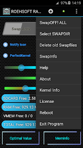 ROEHSOFT RAM Expander (SWAP) v3.72 [Patched] APK 2