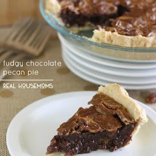 Fudgy Chocolate Pecan Pie