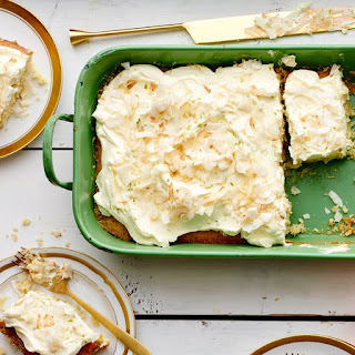 Coconut-Key Lime Sheet Cake