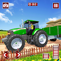 Real Tractor Parking Simulator icon