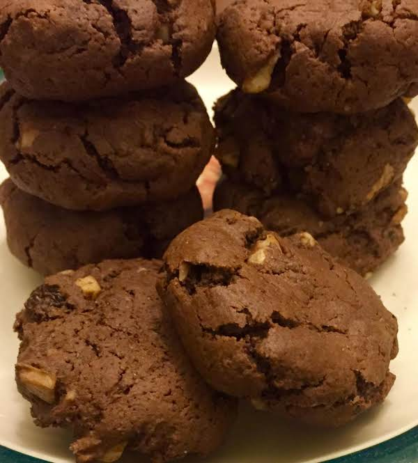 Chocolate Hermit Cookies