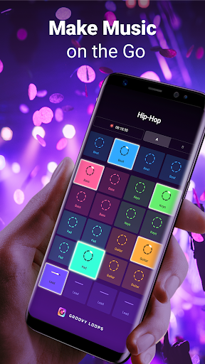 Groovy Loops - Beat and Music Maker🦄 1.6.0 screenshots 1