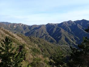 羽鳥峰峠方面