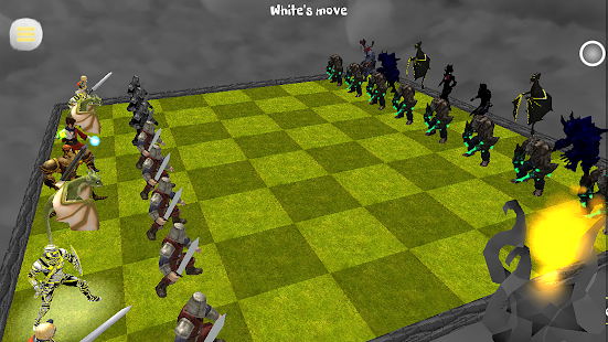 Chess 3D Animation : Real Battle Chess 3D Online - náhled