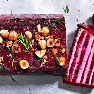Beetroot And Goat's Cheese Terrine.