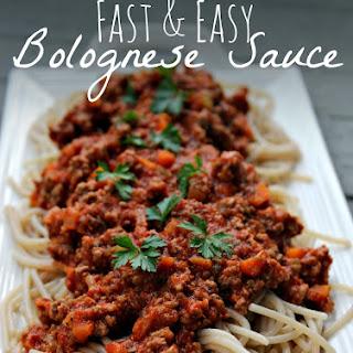 Easy Bolognese Sauce