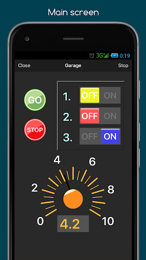 RemoteXY: Arduino control screenshot 6