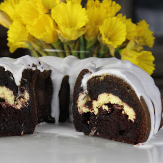 Chocolate Coconut Cream Bundt Cake