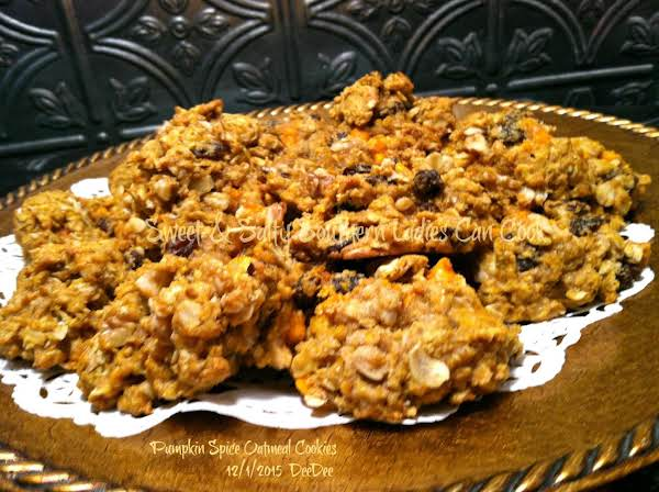 Browned Butter Pumpkin Oatmeal Cookies Recipe