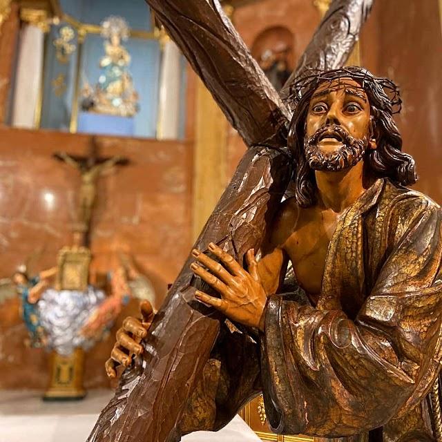 Nuestro Padre Jesús del Camino, de Federico Coullaut Valera, Hermandad del Silencio.