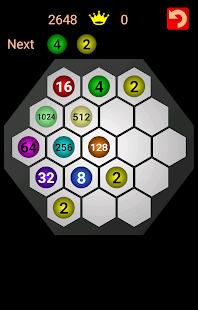 Master 2048 Hexagon - náhled