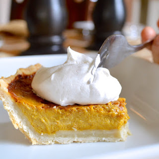 Pumpkin Pie With Cinnamon Whipped Cream Recipes