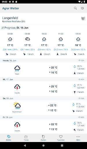 Bayer Agrar Wetter  screenshots 13