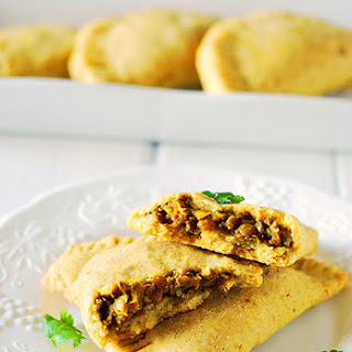 Jamaican Lentil Patties (Gluten-Free, Vegan)