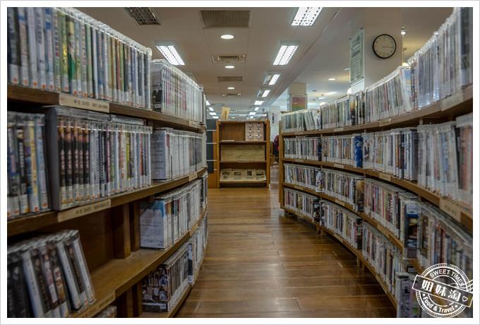 北投圖書館DVD區