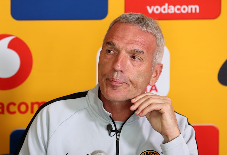 Ernst Middendorp is yet to win a Premiership title in South Africa.