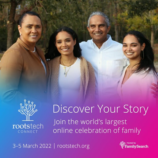 RootsTech Connect 2022 Will Be Virtual and Free Again