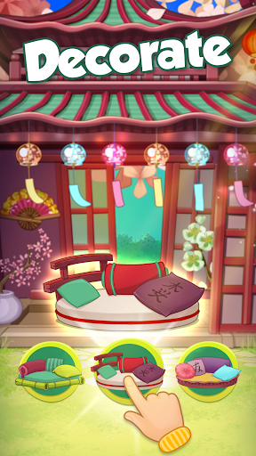 Bloomberry match-3 story. Merge fruits & decorate! screenshot