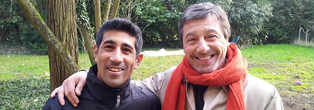 Régleur cascades Alexis DIENNA et l'acteur Marc DURET. Escrime Cascade : https://www.escrimecascade.com/