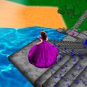 Cinderella. Way home. icon