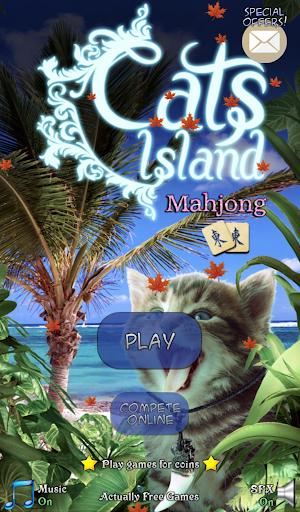 Hidden Mahjong: Cats Island