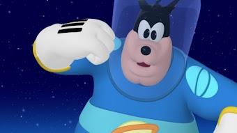 Mickey dans l'espace, première partie
