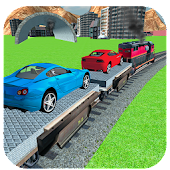 Car Cargo Train Transporter