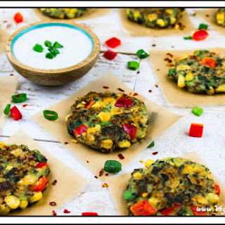 Vegan Zucchini-Corn Fritters