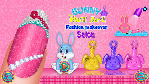 Bunny Nail Art Fashion Makeover Salon 1.1 screenshots 1