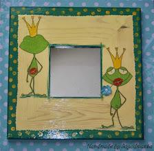 Photo: wooden mirror 3
