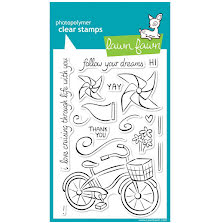 Lawn Fawn Clear Stamps 4X6 - Cruising Through Life