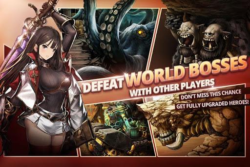 Brave Nine - Tactical RPG apkpoly screenshots 3