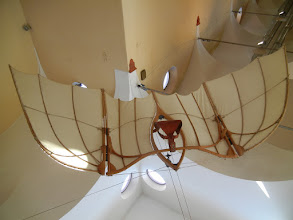 Photo: Glider modeled from one of DaVinci's drawings