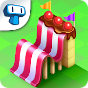 Candy Hills - Theme Park Simulator Clicker Game