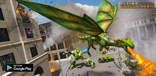 Deadly Flying Dragon Multi Robot Bike Simulator - Revenue