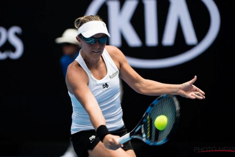 Australian Open zit erop voor Kirsten Flipkens: dubbelpartner geeft forfait voor tweede ronde