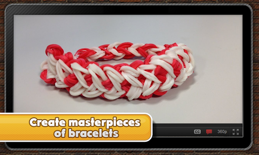 Incredible rubber bracelets