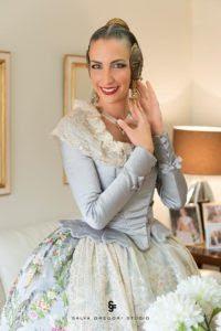 Raquel Alario Bernabé, Mantenidora en la presentació de la Fallera Major infantil de Gandia
