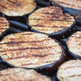 Grilled Middle Eastern Eggplant