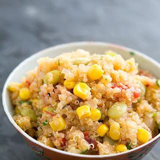 Quinoa Succotash